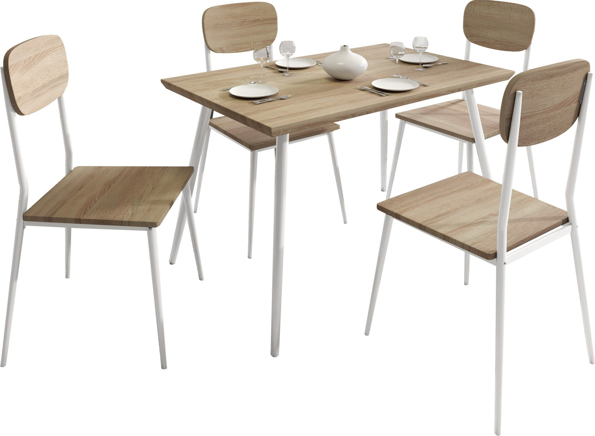 Comment assortir l ensemble table et chaise de sa salle for Ensemble table chaise design
